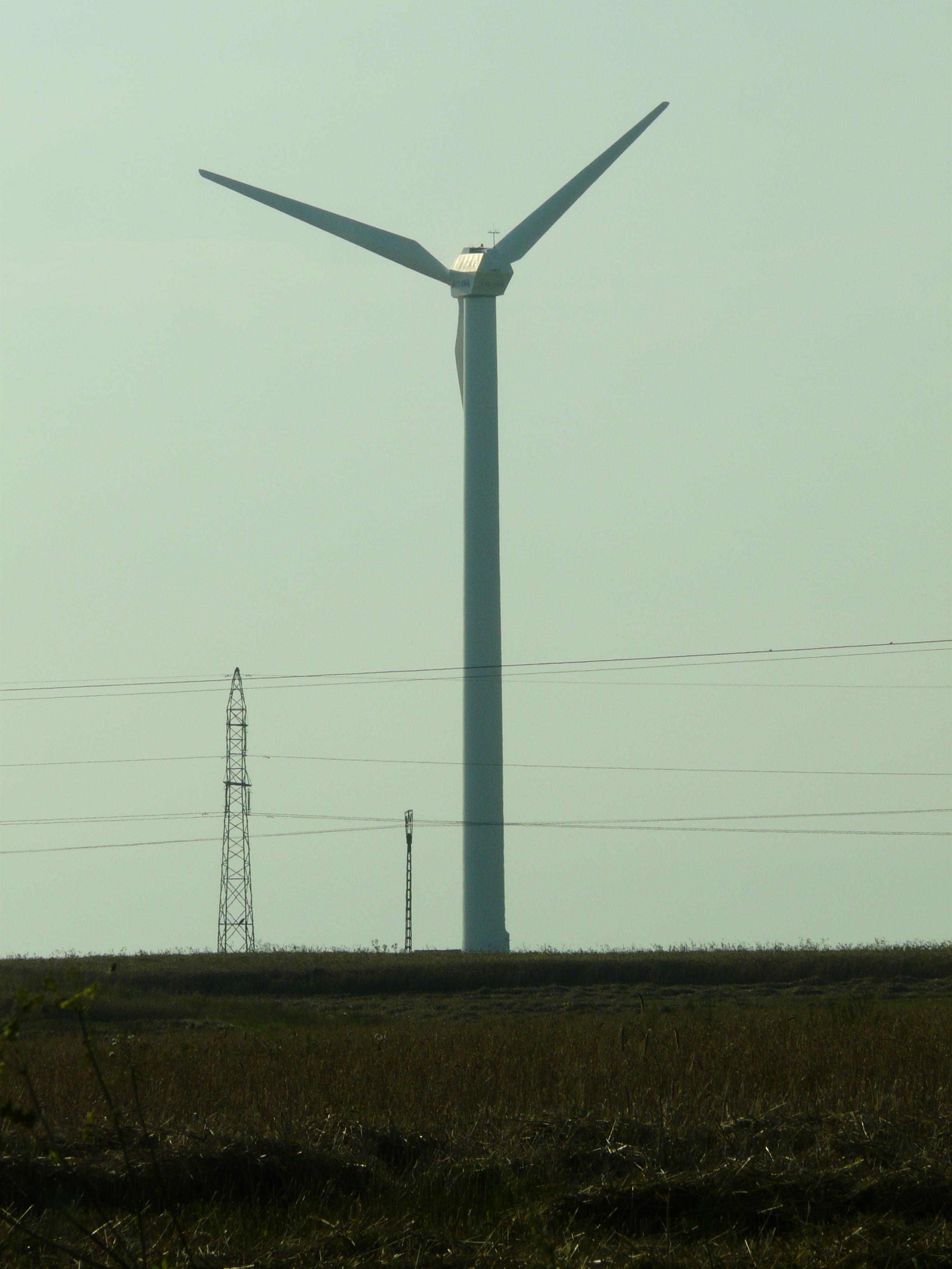 Elektrownie wiatrowe - znak CE